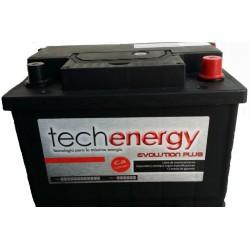 BATERIA TECH ENERGY 45Ah+D (Tipo Renault)-TECH46.0