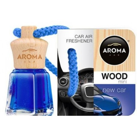 AMBIENTADOR AROMA CAR WOOD NEW CAR