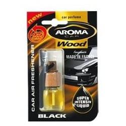 AMBIENTADOR AROMA CAR WOOD BLACK