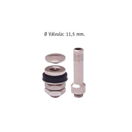 VALVULA TURISMO S/C METAL ANTIRROBO-454B